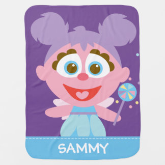 Abby Cadabby Baby | Add Your Name Pram blankets