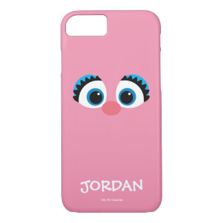Abby Cadabby Big Face | Add Your Name iPhone 8/7 Case