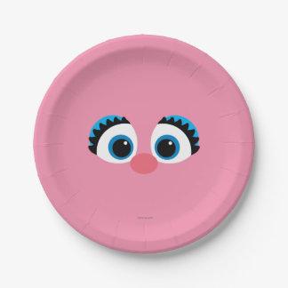 Abby Cadabby Big Face Paper Plate