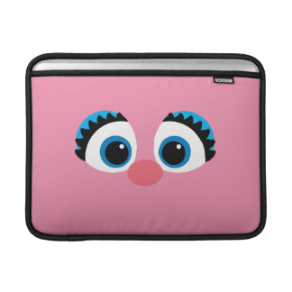 Abby Cadabby Big Face Sleeve For MacBook Air