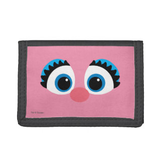 Abby Cadabby Big Face Tri-fold Wallets