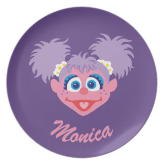 Abby Cadabby Face   Add Your Name Plate