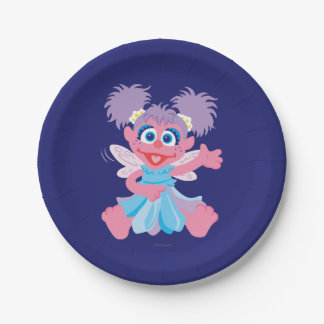 Abby Cadabby Fairy 7 Inch Paper Plate