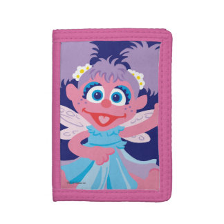 Abby Cadabby Fairy Tri-fold Wallets