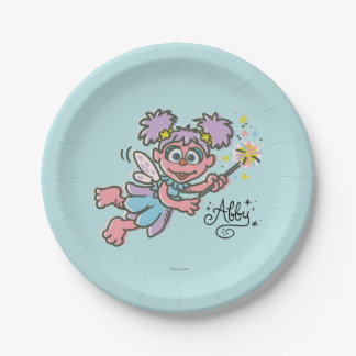 Abby Cadabby Flying 2 Paper Plate