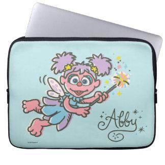 Abby Cadabby Flying Laptop Sleeve