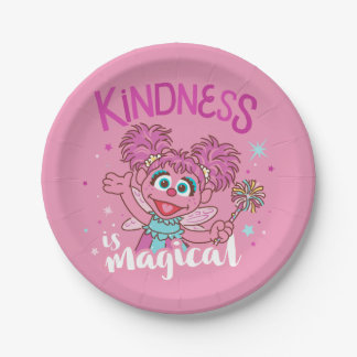 Abby Cadabby - Kindness is Magical 7 Inch Paper Plate