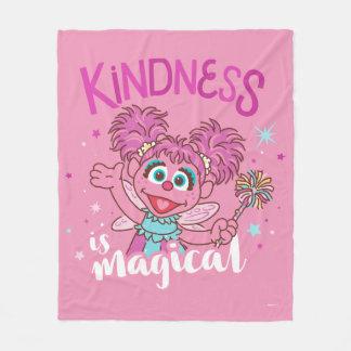 Abby Cadabby - Kindness is Magical Fleece Blanket
