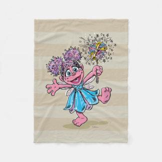 Abby Cadabby Retro Art Fleece Blanket