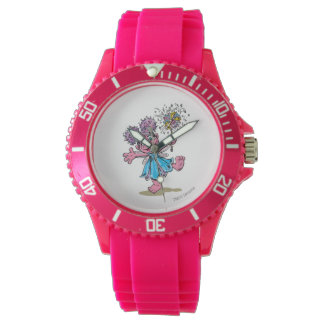 Abby Cadabby Retro Art Wrist Watches