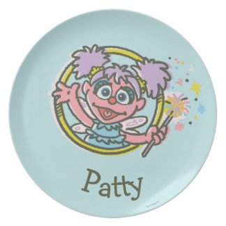Abby Cadabby Vintage | Add Your Name Plate