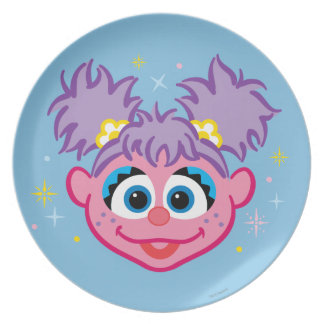 Abby Smiling Face Plate