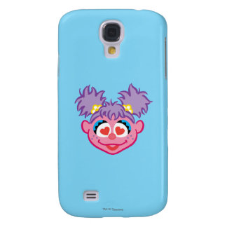 Abby Smiling Face with Heart-Shaped Eyes Galaxy S4 Case