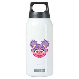Abby Smiling Face with Heart-Shaped Eyes Insulated Water Bottle