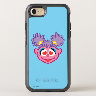 Abby Smiling Face with Heart-Shaped Eyes OtterBox Symmetry iPhone 8/7 Case