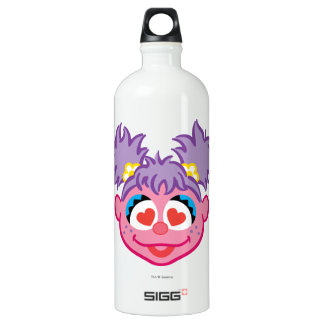 Abby Smiling Face with Heart-Shaped Eyes Water Bottle