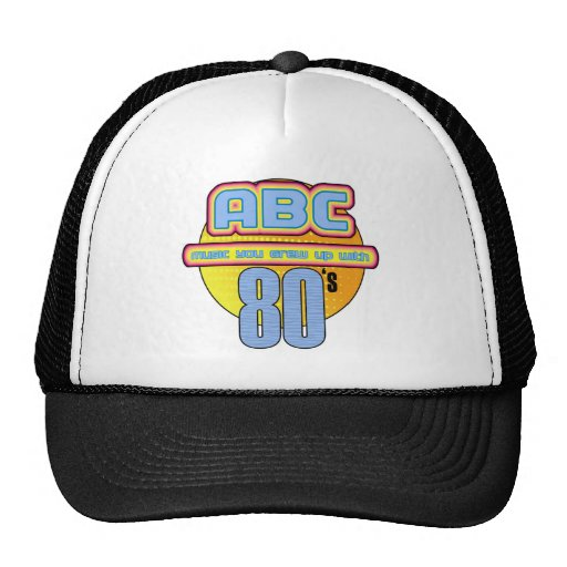 ABC 80s Hat
