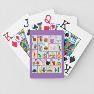 """abc, abc's, learning, school, colors, """"learning th bicycle playing cards"""
