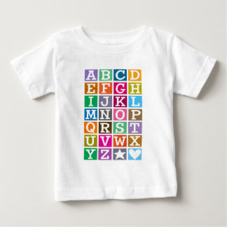 ABC Alphabet Baby T-Shirt