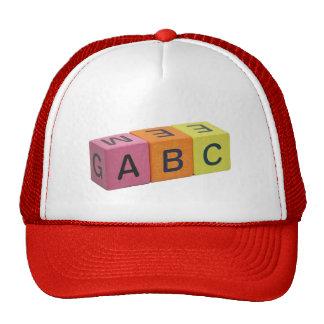 ABC Alphabet Blocks Cap