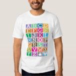 ABC Alphabet Tshirts