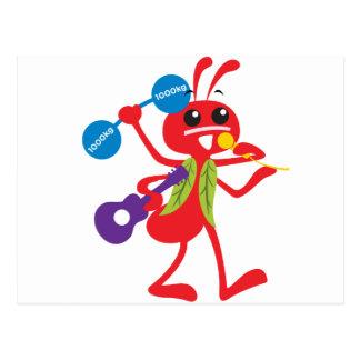 ABC Animals  Adam Ant Postcard