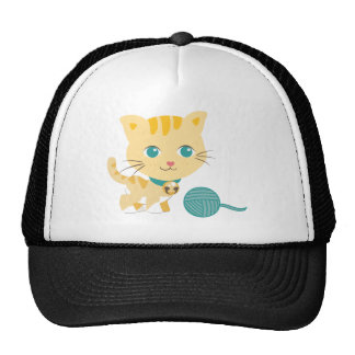 ABC Animals - Carrie Cat Mesh Hats