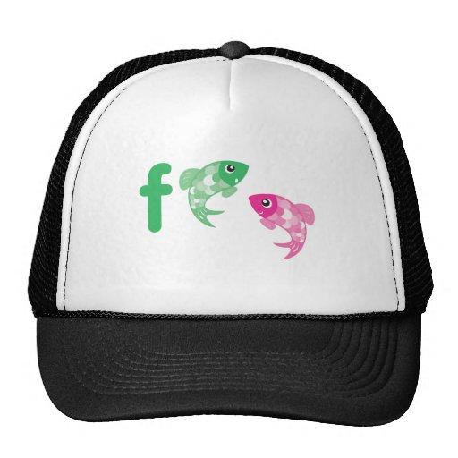 ABC Animals - Fish Trucker Hat