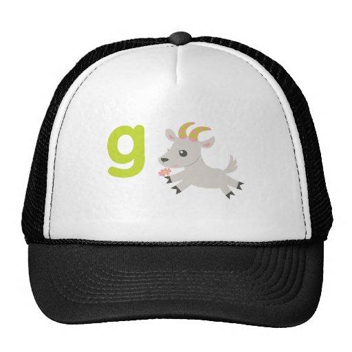 ABC Animals - Gabby Goat Hats