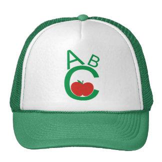 ABC Apple Mesh Hats