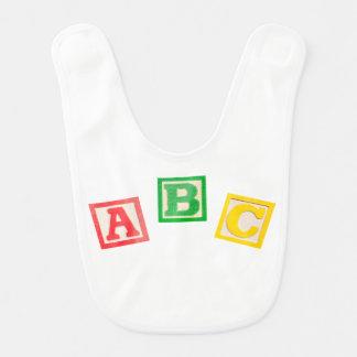 ABC baby's bib