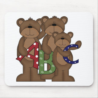 ABC Bears Mouse Pad