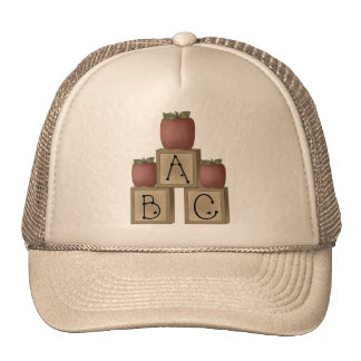 ABC Blocks and Apples Hats