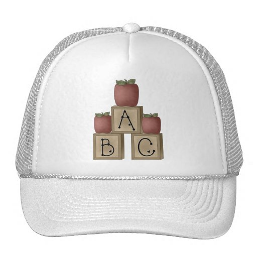ABC Blocks and Apples Hats
