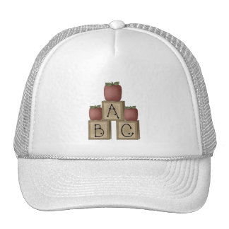 ABC blocks Cap