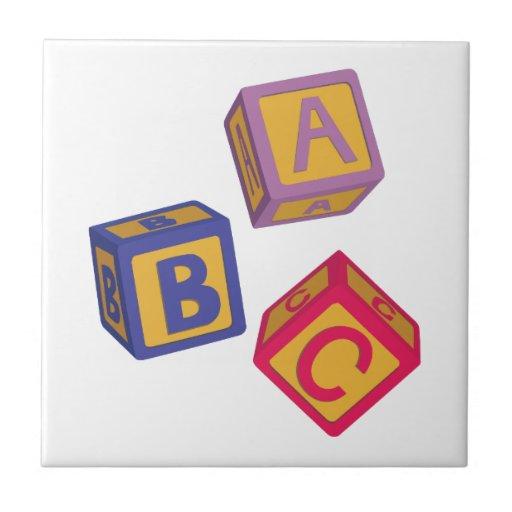 ABC Blocks Tile