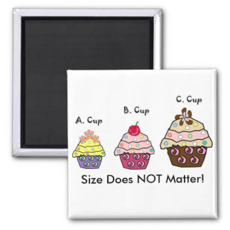 ABC Cups Square Magnet