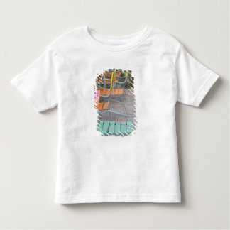 ABC Islands, ARUBA, Palm Beach: Colorful Cafe Toddler T-Shirt