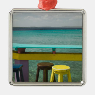 ABC Islands, BONAIRE, Kralendijk: Ocean View Christmas Ornament