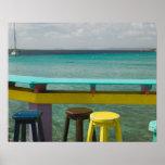 ABC Islands, BONAIRE, Kralendijk: Ocean View Print