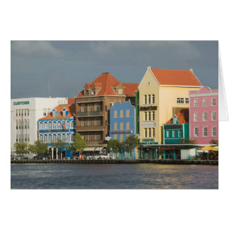 ABC Islands, CURACAO, Willemstad: Harborfront 2 Card