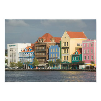 ABC Islands, CURACAO, Willemstad: Harborfront 2 Photo Art