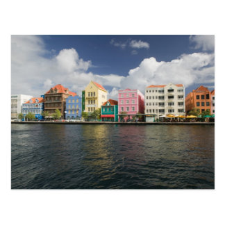 ABC Islands, CURACAO, Willemstad: Harborfront Postcard