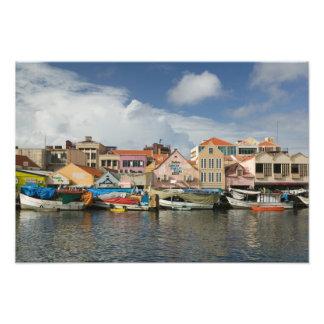 ABC Islands, CURACAO, Willemstad: Punda, Photo Print