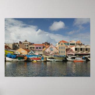 ABC Islands, CURACAO, Willemstad: Punda, Poster