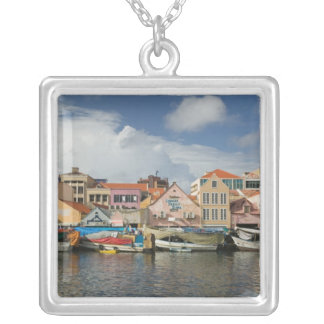 ABC Islands, CURACAO, Willemstad: Punda, Silver Plated Necklace