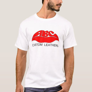 ABC Leathers Logo t-shirt