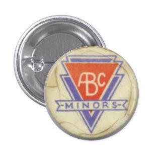 ABC Minors badge - white - 3