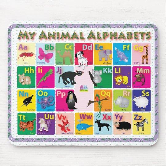 ABC: My Animal Alphabets Mouse Mat