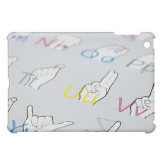ABC of sign language Case For The iPad Mini
